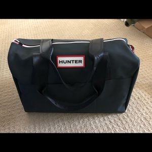 New hunter large tote bag black